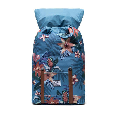 Herschel ryggsekk, Retreat, medium - Summer floral heaven blue