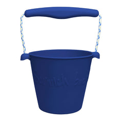 Scrunch-bucket, blød foldbar spand - midnight blue