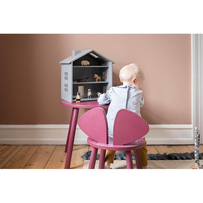 Nofred Mouse Chair barnestol, burgundy (2-5 år)