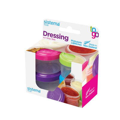 Sistema Dressing to go - 4 stk