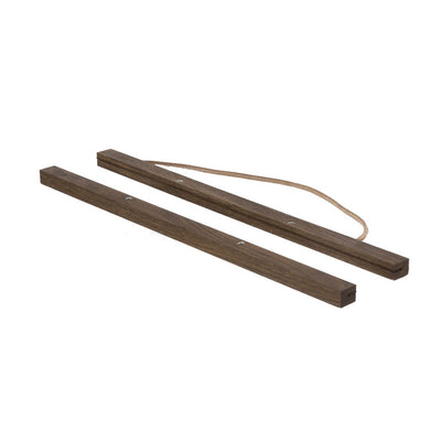 ferm Living ramme til plakat, Smoke oak - Small