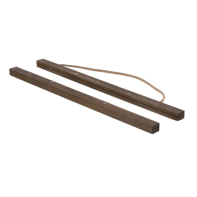 ferm Living ramme til plakat, Smoked oak - Large