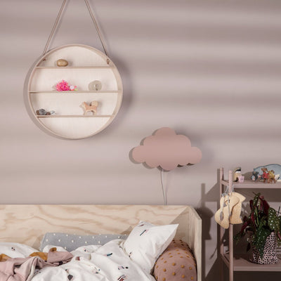 ferm Living vegglampe, Cloud - dusty rose