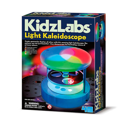 KidzLabs, eksperimentsett - Light kaleidoscope