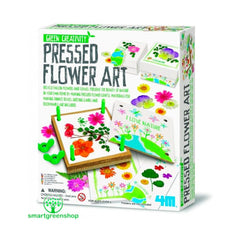 Green Creativity, Blomsterpresser kunst