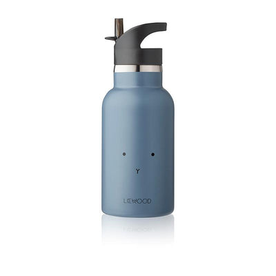 Liewood Anker water bottle, termos - Rabbit blue wave