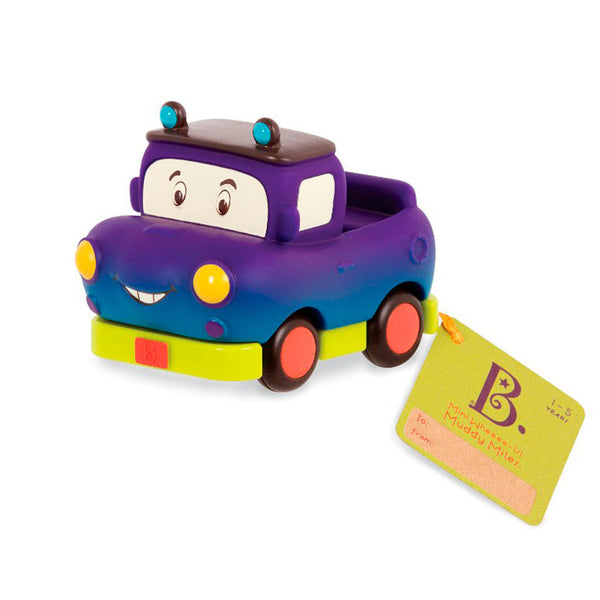 B Toys Mini Wheeee-is, pick-up