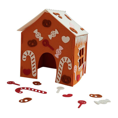 Fabelab kreativt sett, DIY - Gingerbread house kit
