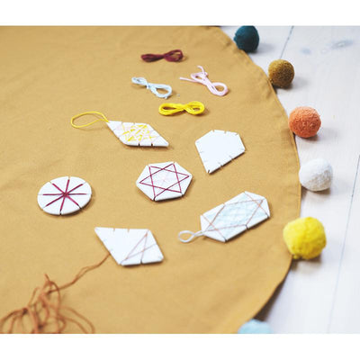 Fabelab kreativt stoffsett, DIY - Geometric ornament craft