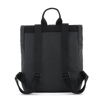 Dusq Mini bag, Canvas ryggsekk - Night black/all black