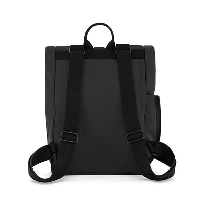 Dusq Vegan bag, Canvas ryggsekk - Night black