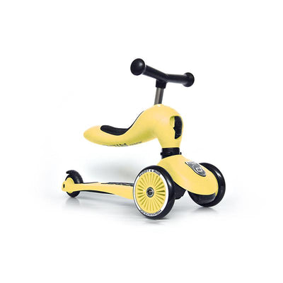 Scoot and Ride Highway Kick 1, scooter - Lemon