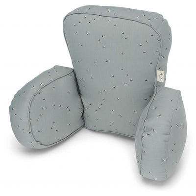Konges Sløjd pram pillow, pute til barnevogn - Mille Marine French Blue