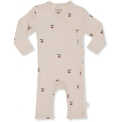 Konges Sløjd body, Newborn Onesie - Cherry Blush