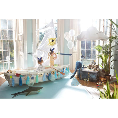 Meri Meri ballong sett, Under the sea, Shark - 106 cm