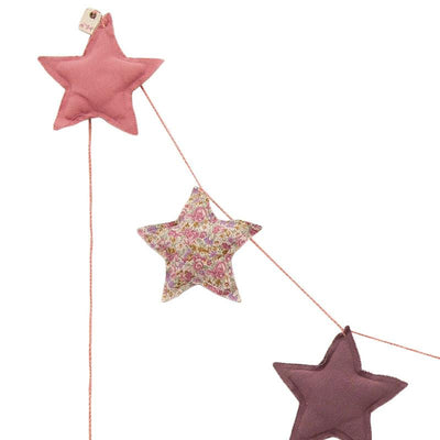 Numero 74 mini star girlander, mix pink