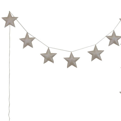 Numero 74 mini star girlande, skinnende cream