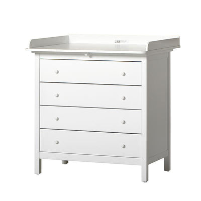 Oliver Furniture Seaside stellekommode m. 4 skuffer