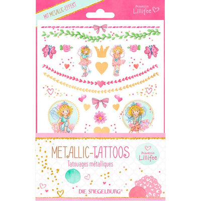 Prinsesse Lillefe tatoveringer, Metallic