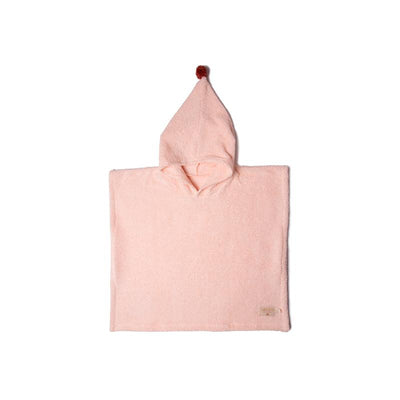 Nobodinoz poncho, So Cute, 3-5 år - pink