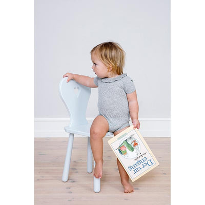 Cam Cam stol, Heart Kids chair - Classic Grey