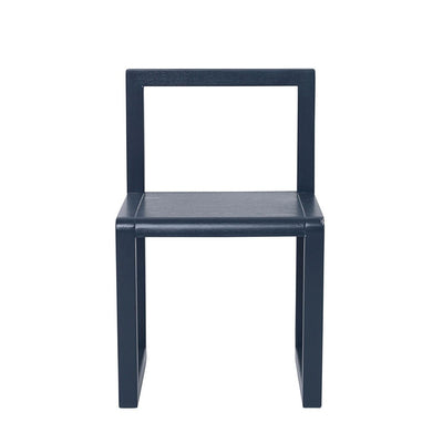 ferm Living barnestol, Little Architect Chair - dark blue