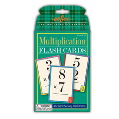 Flash Cards, Multiplication - Lær å gange