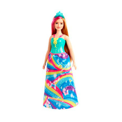 Barbie dukke, Dreamtopia Princess - Turkis diadem