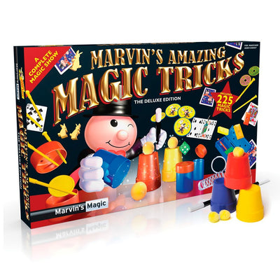 Marvins Magic tryllesett, Boks m. 225 triks