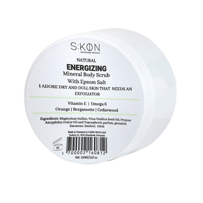 Skøn Skincare, Energizing Body Scrub - 150 ml