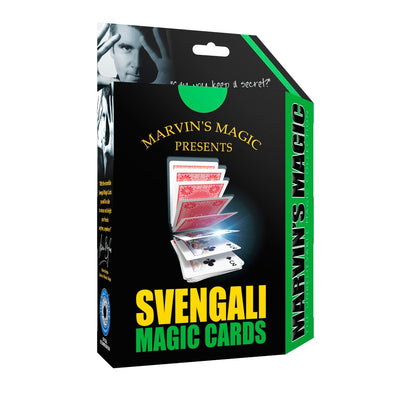 Marvins Magic tryllesett, Svengali magic cards