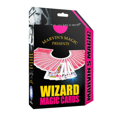 Marvins Magic tryllesett, Wizard magic cards