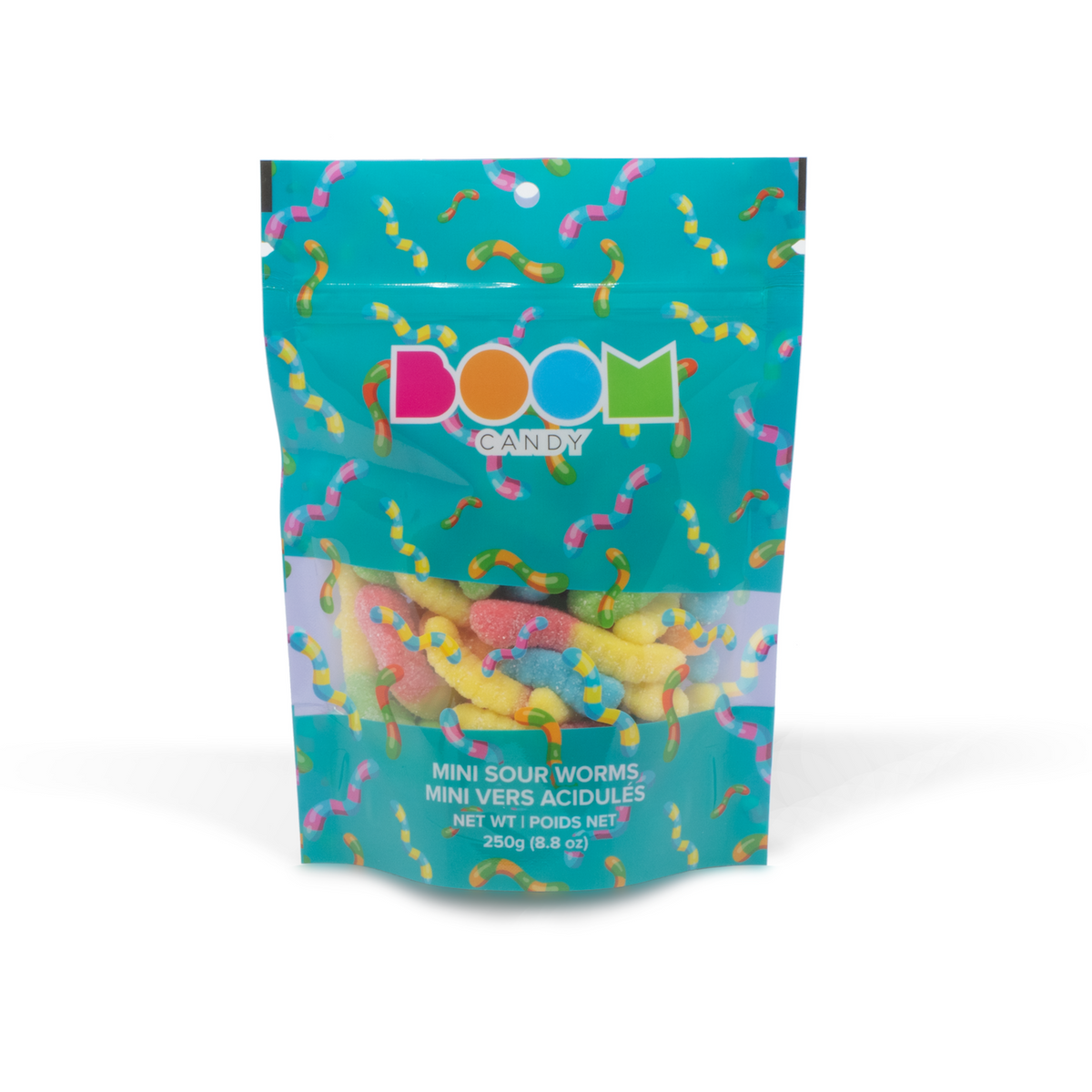 Mini Sour Worms Candy Bag