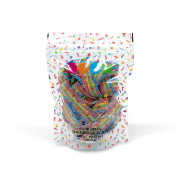 Sour Belts Candy Bag