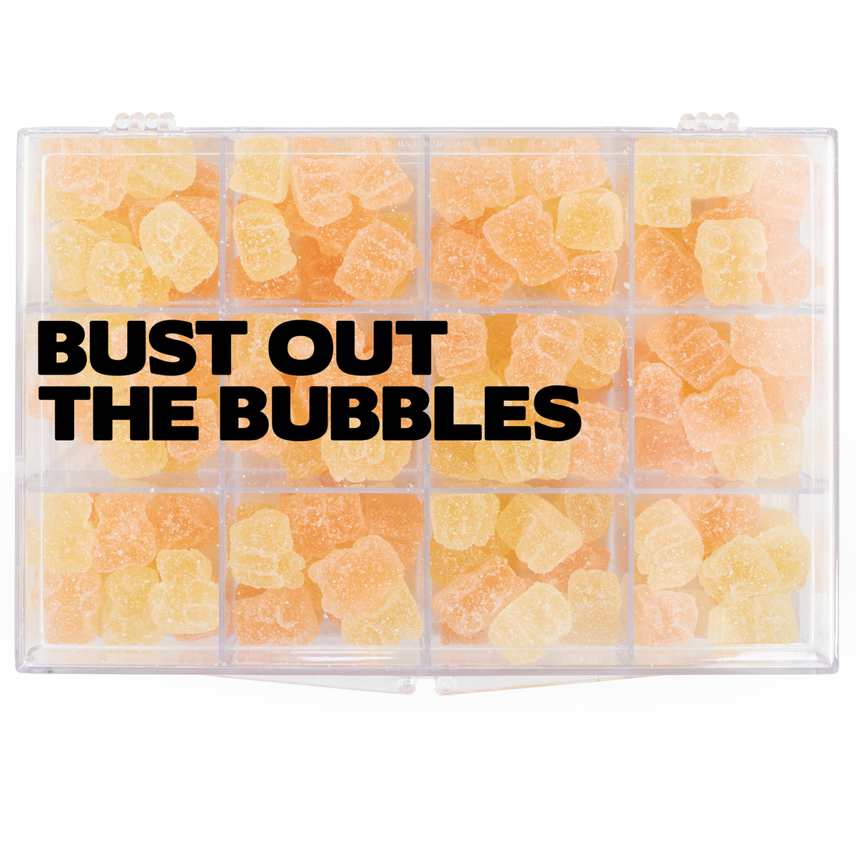 Bust out the Bubbles Snackle Box