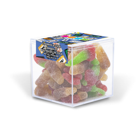 Cherry Twins & Cola Bottles Candy Cube