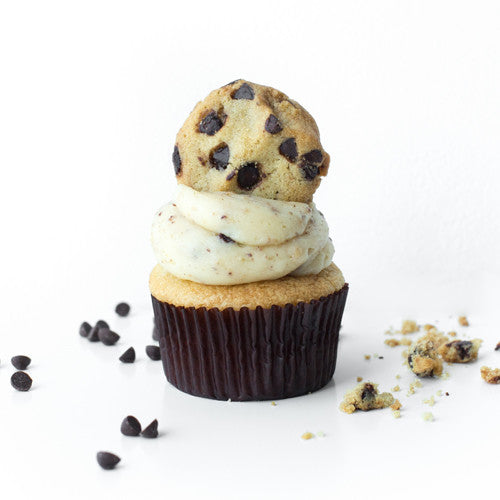 Cookie Dough Cupcake