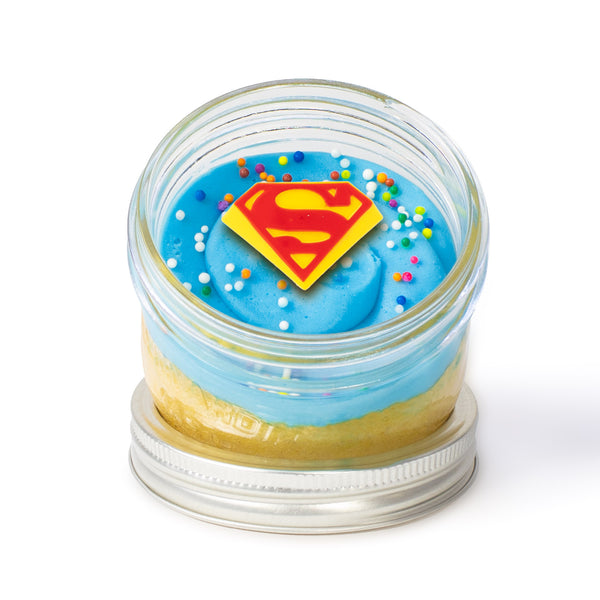 Superman Jarcake