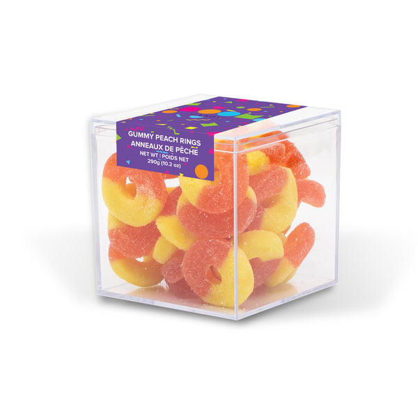 Peach Rings Candy Cube