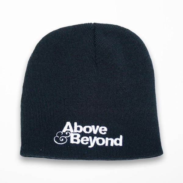 Above & Beyond Black Beanie