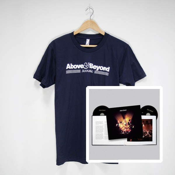 Acoustic 1 Special Edition Book + Navy Tour T-Shirt (PAL)