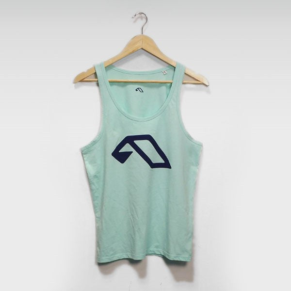 PURPLE A LOGO MINT TANK
