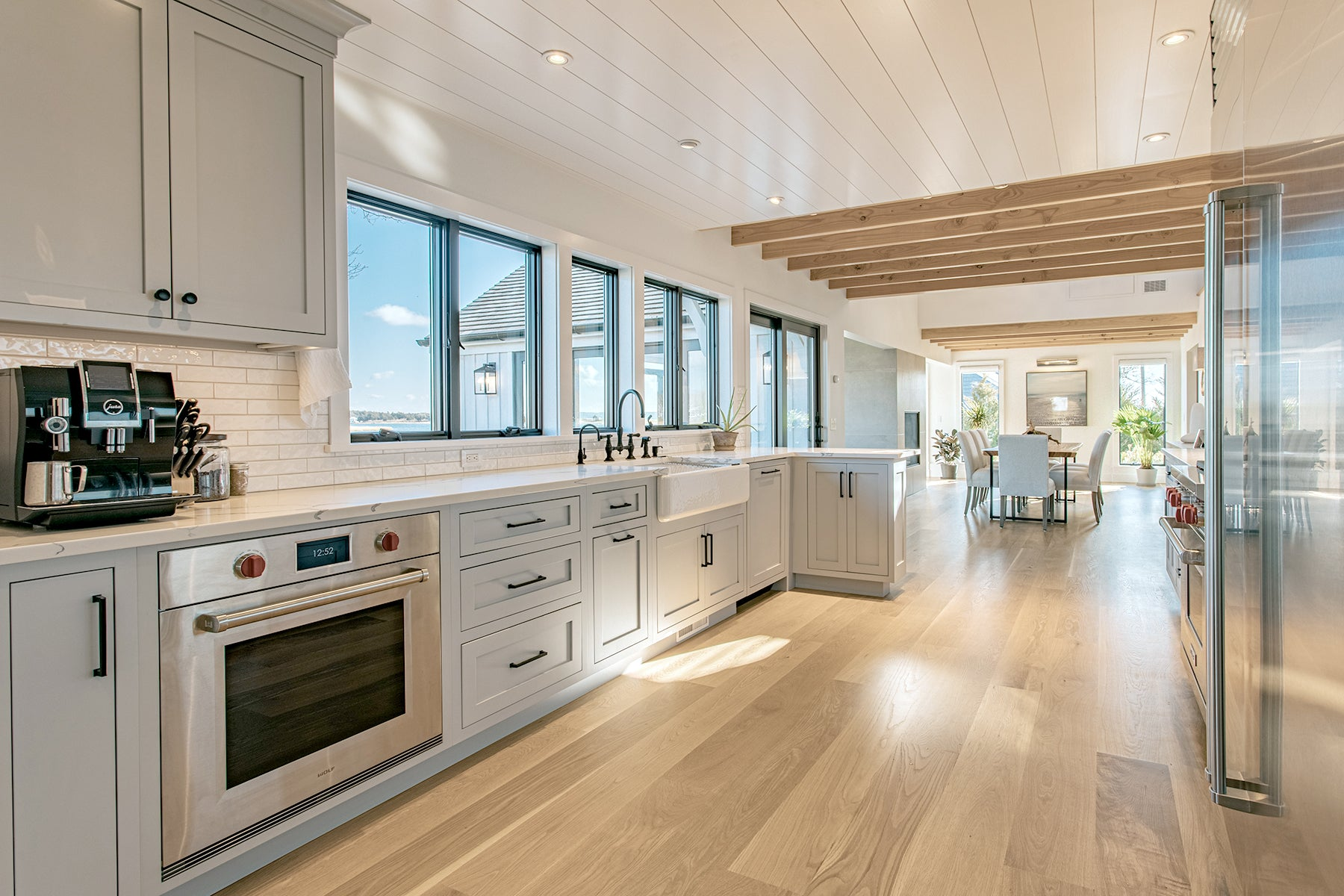 Ocean Blu Designs - Kitchen Modern Coastal and Transitional Designs for New York, Long Island, Connecticut, Hamptons, and Florida. Interior Designers