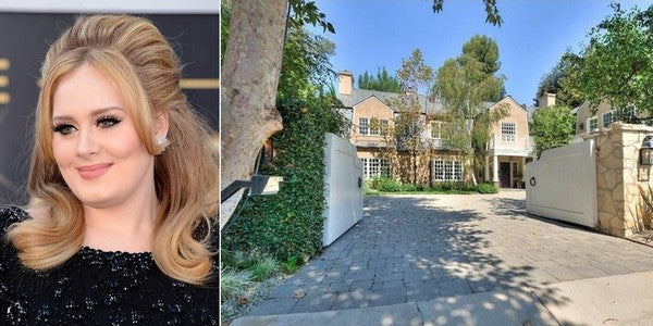 Adele's New California Home! Must See!