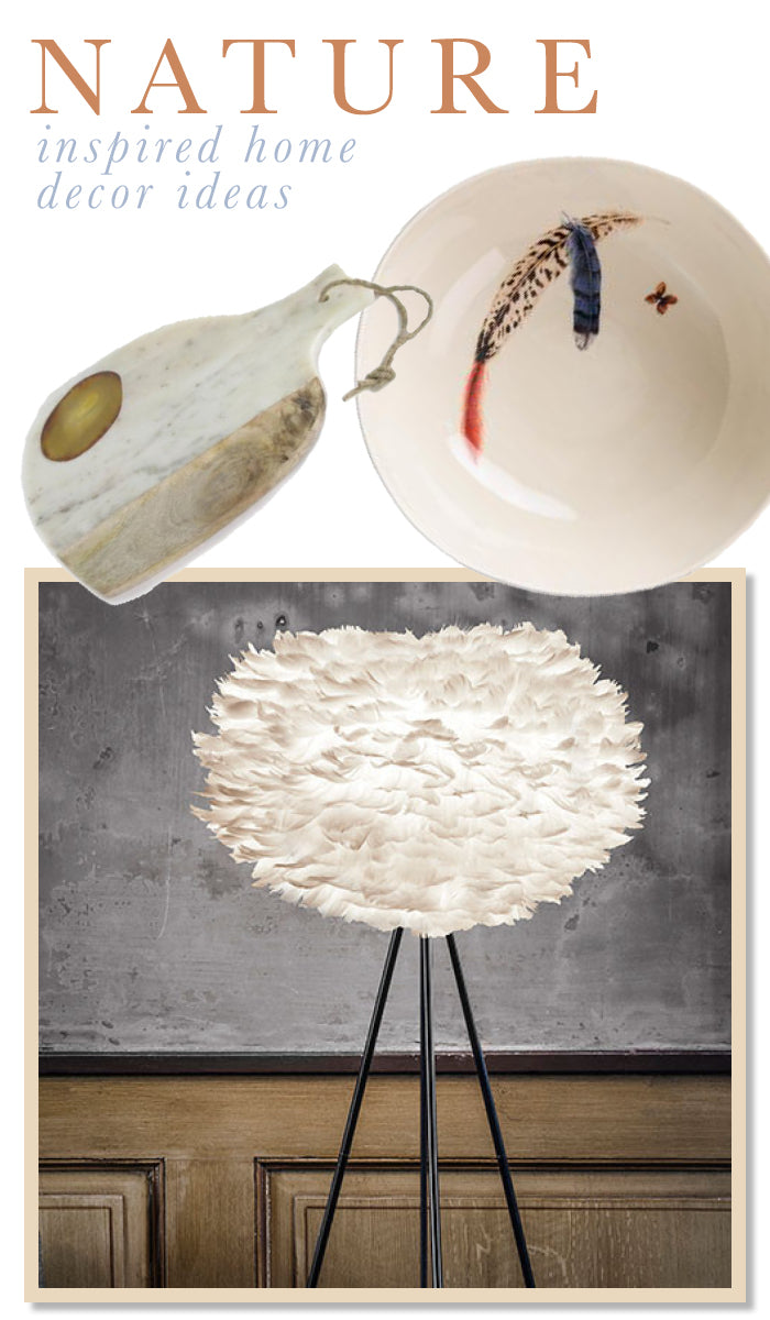 Bringing nature into the house in new ways! Great ideas! found on www.oceanbludesigns.com