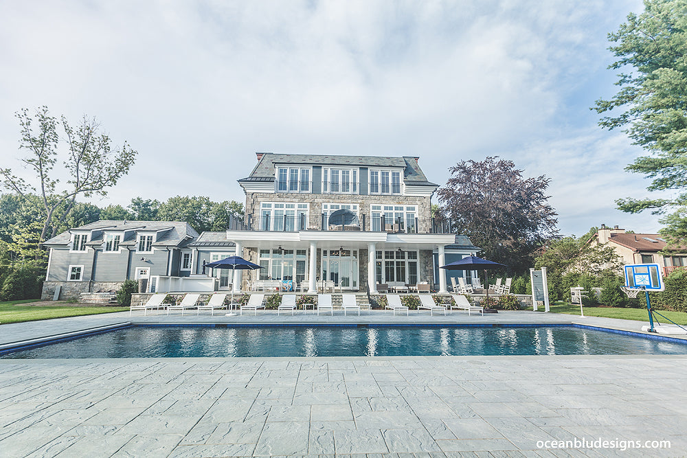 Coastal Home Design by Ocean Blu Designs, Long Island NY - www.oceanbludesigns.com