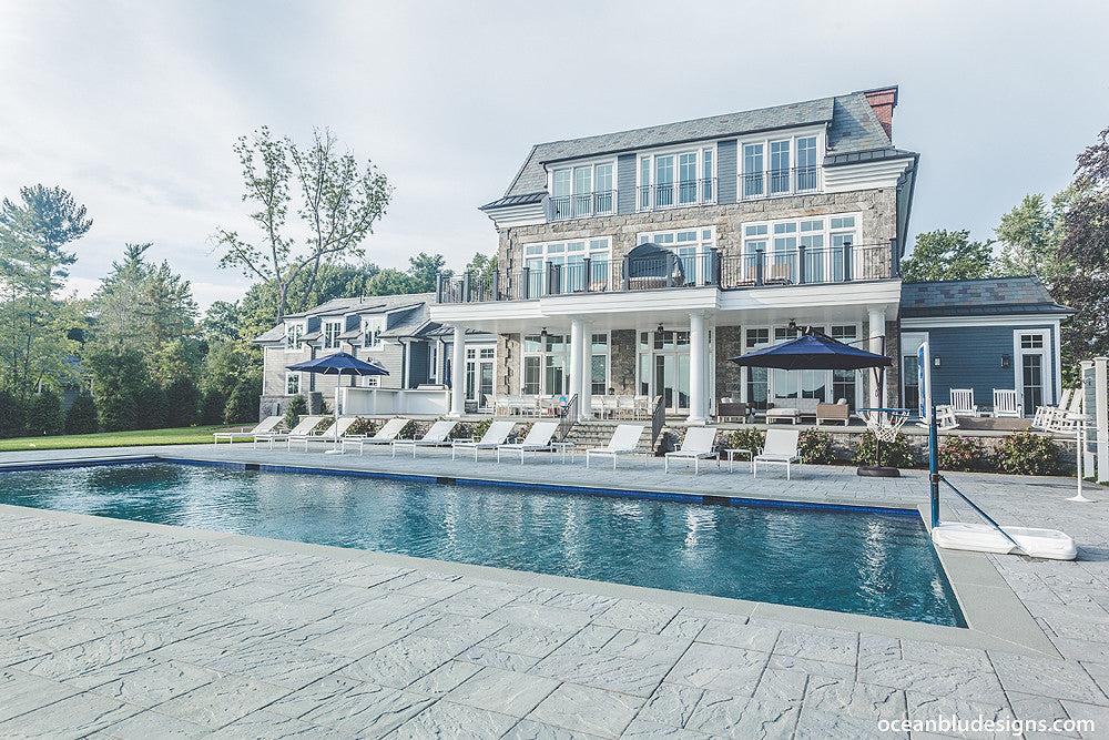 Blog ocean blu designs for Pool design hamptons