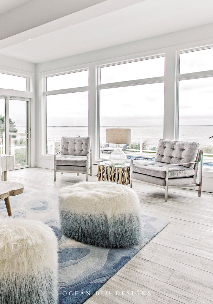 Ocean Blu designs - best Long Island coastal beach home interior designer NY