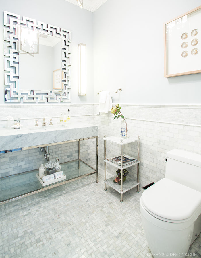 Ocean Blu Designs Long Island Interior Designers Bathroom Designs