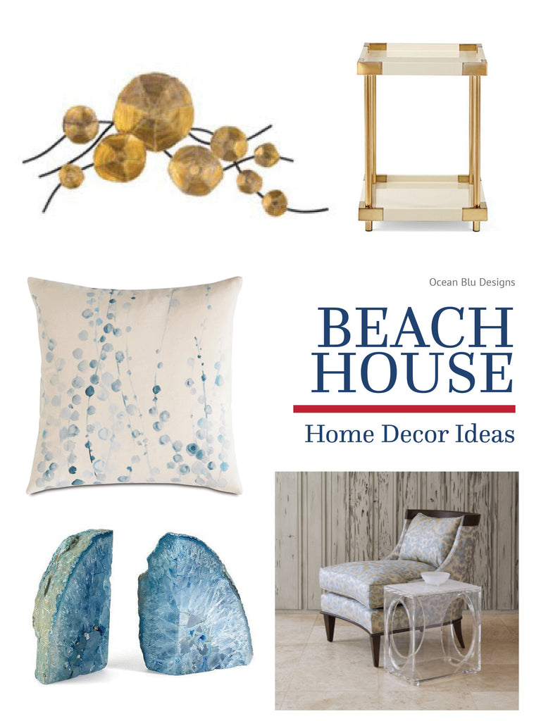 Pepin for later! Beach House Decor Ideas! www.oceanbludesigns.com